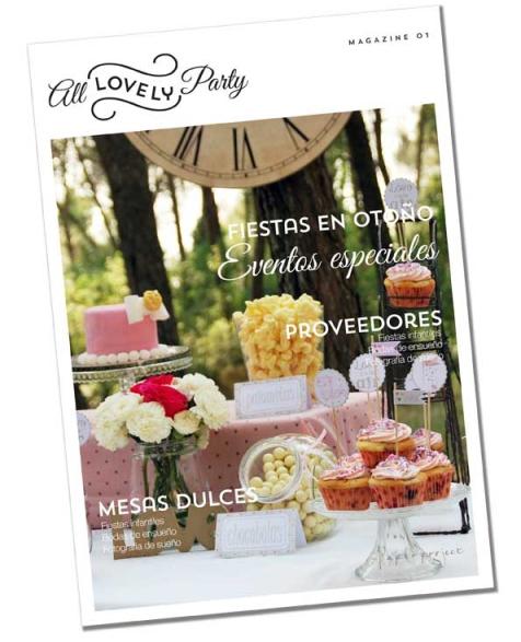 Portada All Lovely Party Magazine